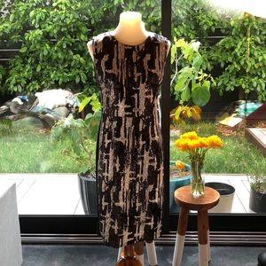 BCBG graphic sequined dress